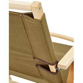 CAMPZ Comfort Silla Plegable Madera Haya, brown